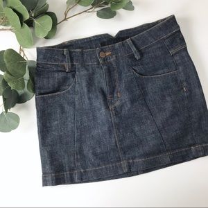 J Brand miner Jean mini skirt women's 25